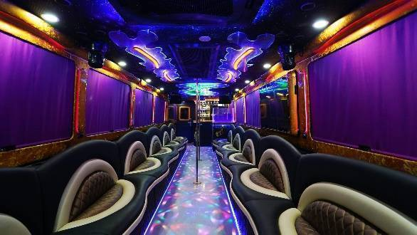 How Many People Can a Party Bus Handle?